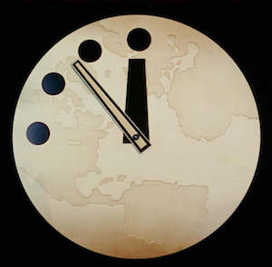 Fig. 4 : La « doomsday clock ».